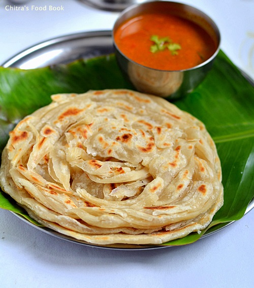 How to make parotta