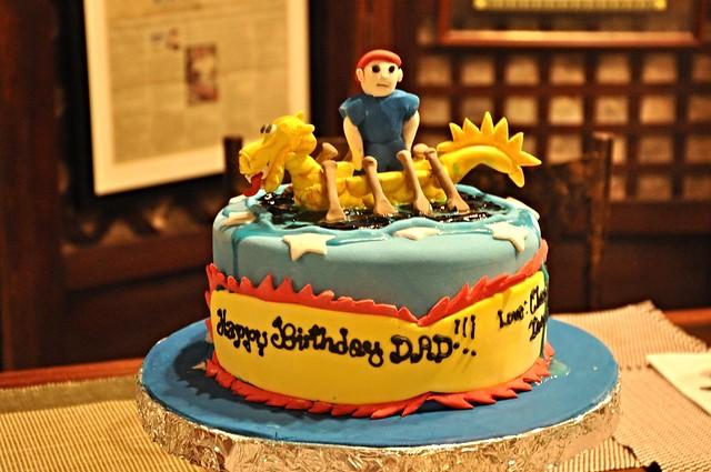 Birthday Cake for the Paddler