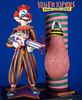 Killer Klowns From Outer Space Figure by Sota Striped Klown Loose Complete Toy Tilt