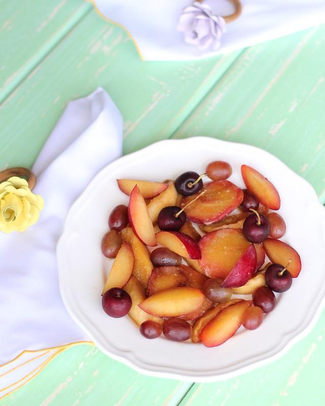 receita de salada de frutas diferente