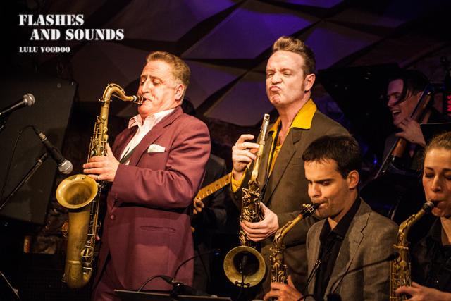 Ray Gelato & Barcelona Big Blues Band feat Sax Gordon, Dani Nel·lo & Dani Pérez06