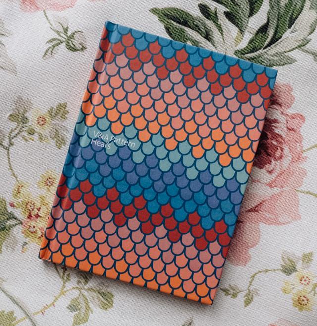 v&a pattern: heals book