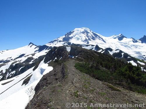 The WTA website directed me toward Skyline Divide on the Mt. Baker Highway, Washington
