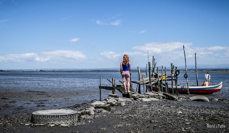bassa marea a Torreira