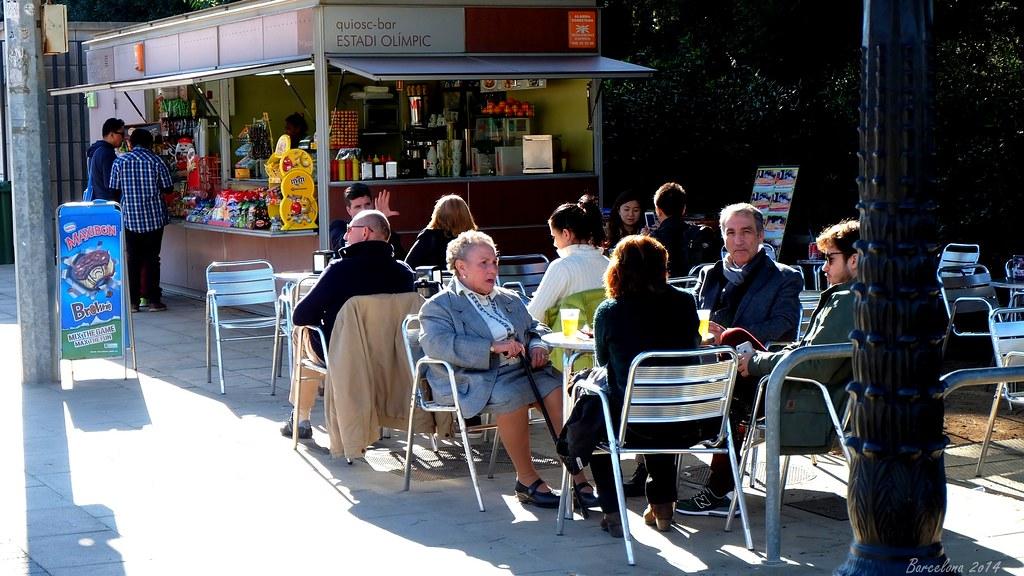 Barcelona day_3, Avinguda de l Estadi