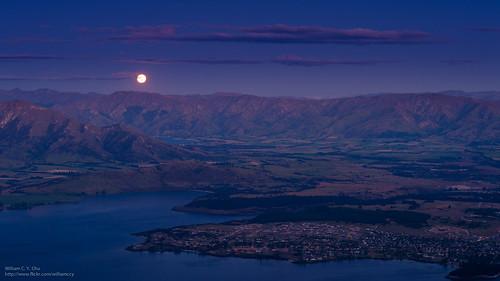 travel newzealand moon lake landscape southisland otago wanaka lakewanaka glendhubay boyspeak