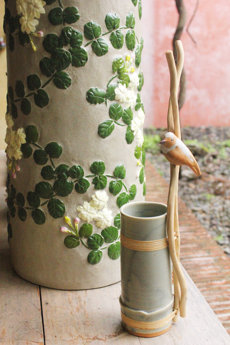 Ugu Bigyan Potter's Garden earthenware