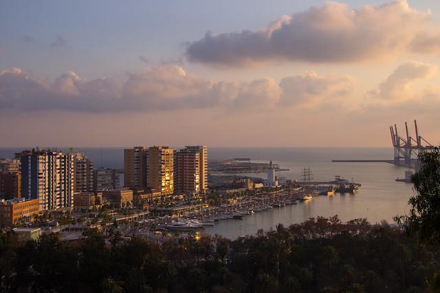 Malaga Port - Spain