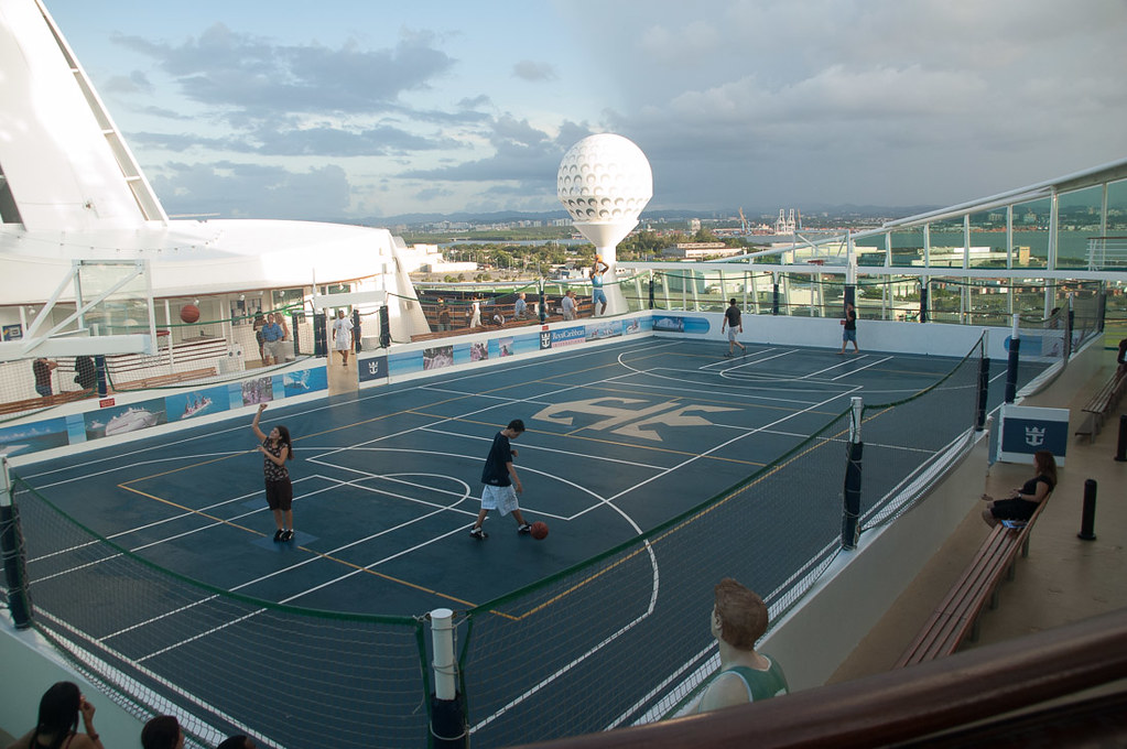 Basketball court on Adventure of the Seas | Royal Caribbean