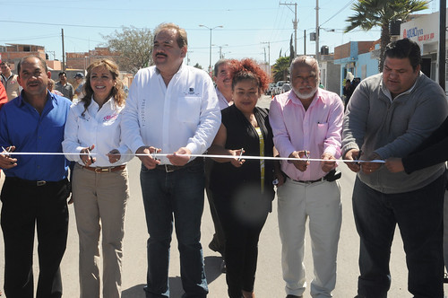 Siguen las obras de pavimentación en delegaciones municipales