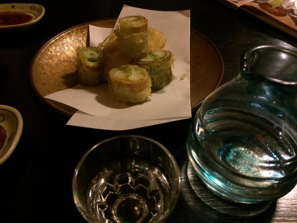 下仁田葱の天ぷら