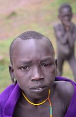 Surmi Boys, Tulgit, Ethiopia