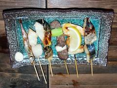 #9368 fish skewers (魚?肴?)