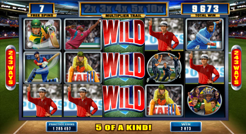 Cricket Star Free Spins