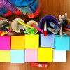 Post-its, pens, and colors.  #colors #schoolsupplies #officesupplies #ocd