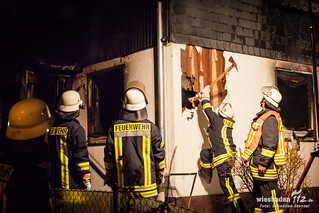 Wohnhausvollbrand Trebur 26.02.15