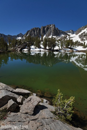 Fifth Lake, big pine lakes, ca