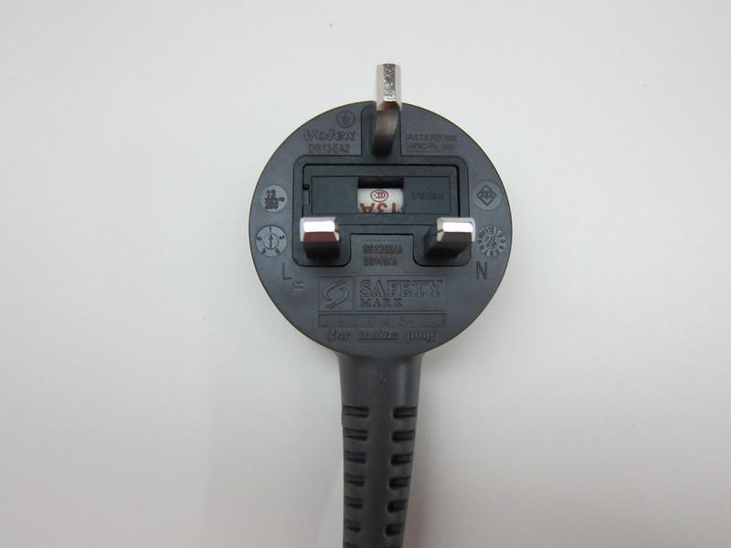 Dyson AM06 Desk Fan 25cm (Iron & Blue) - 3-Pin Plug