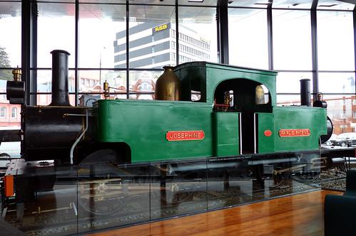 Josephine.  Robert Fairlie-designed locomotive,