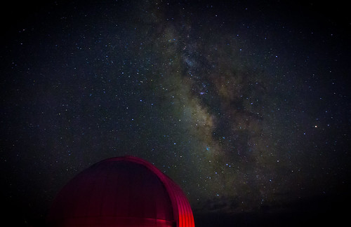 McDonald Observatory and the Milky Way | by sidehike