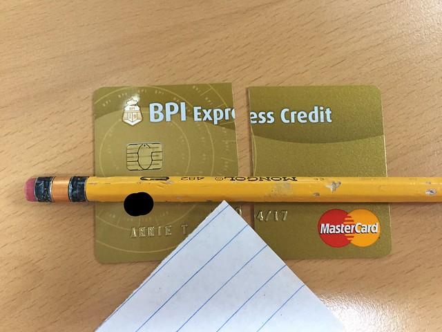 canceled BPI Express Credit