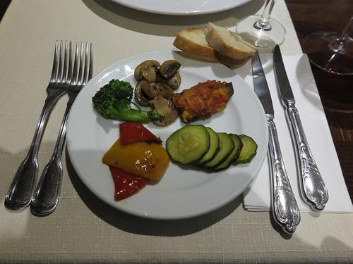 Gemischtes Gemüse (Vorspeise im Ristorante Da Paolo am Rosenplatz in Osnabrück)