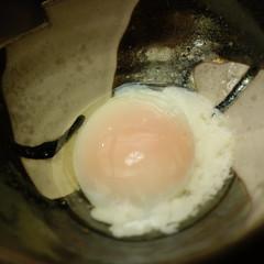 すき焼きの玉子(温泉卵)