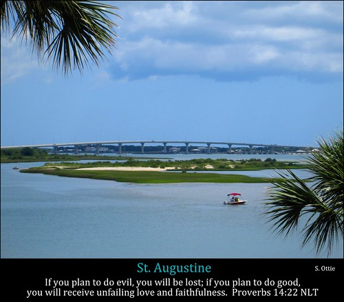 road bridge blue sky usa storm beach water leaves saint st clouds america island bay boat us florida united palm frond fl marsh states augustine waterway intracoastal matanzas a1a vilano usinas