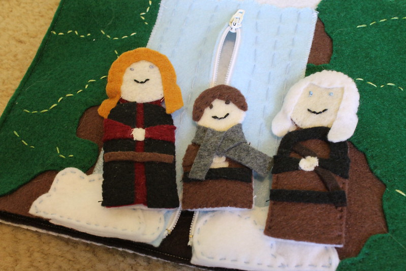 Fellowship of the Finger Puppets!