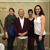 With classmate Anne, Master Ikeda Sensei, and his student/our teacher Barbara. Amazing seminar this weekend!!