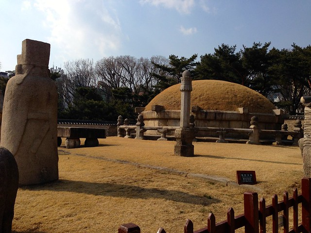 King Seongjong's tomb