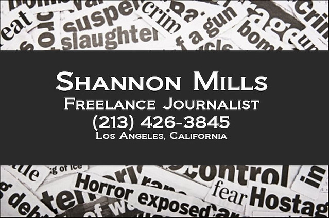 Shannon Mills Business Card