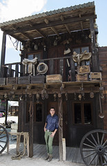 El Viejo Oeste Cachanilla. My Self at Old West, Mexicali baja California. Mexico.