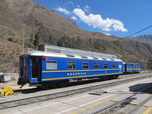 Train d'Ollantaytambo à Aguas Calientes: Perurail, filiale d'Orient Express, opère sur une des lignes ferroviaires les plus chères du monde