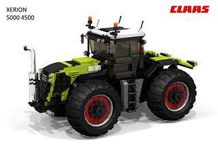 Claas XERION 5000 4x4 High-horsepower Tractor
