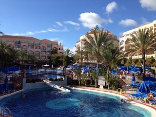 December by the pool - Dunas Mirador Maspalomas