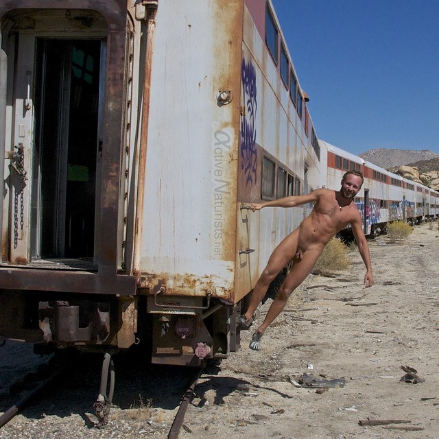 naturist 0007 DeAnza railroad trail, California, USA
