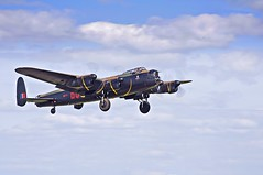 aviation, military aircraft, airplane, propeller driven aircraft, vehicle, avro lancaster, aircraft engine, air show,