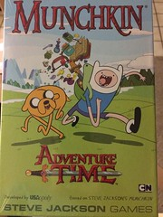 It's love when he buys you the special Adventure Time addition of Munchkin.