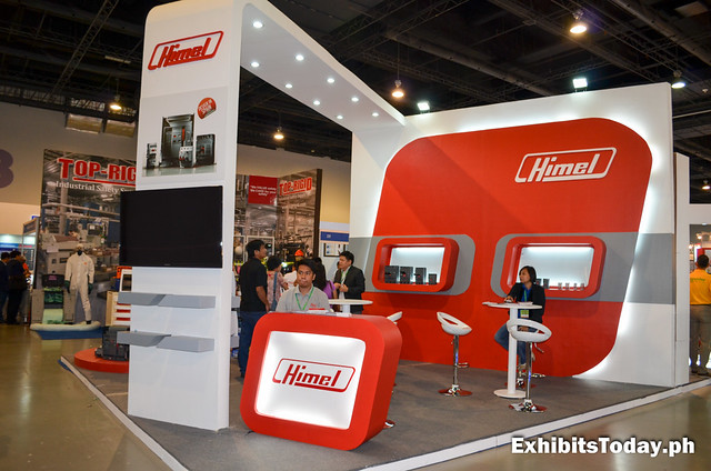 front of Himel Trade Show Display