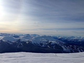 On Blackcomb Mountain