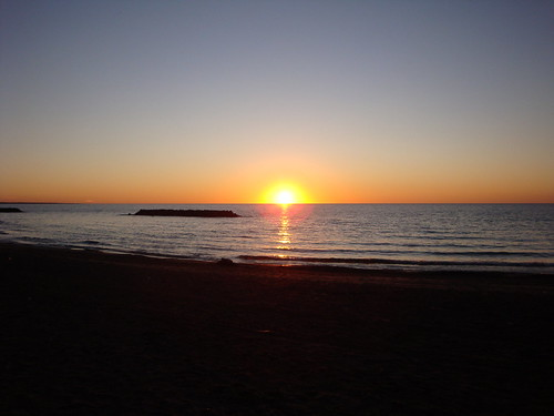 sunset beach lakeerie pennsylvania greatlakes erie presqueislestatepark