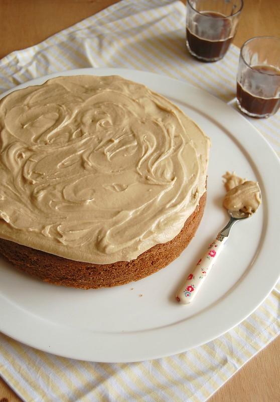 Maple cake / Bolo de xarope de bordo