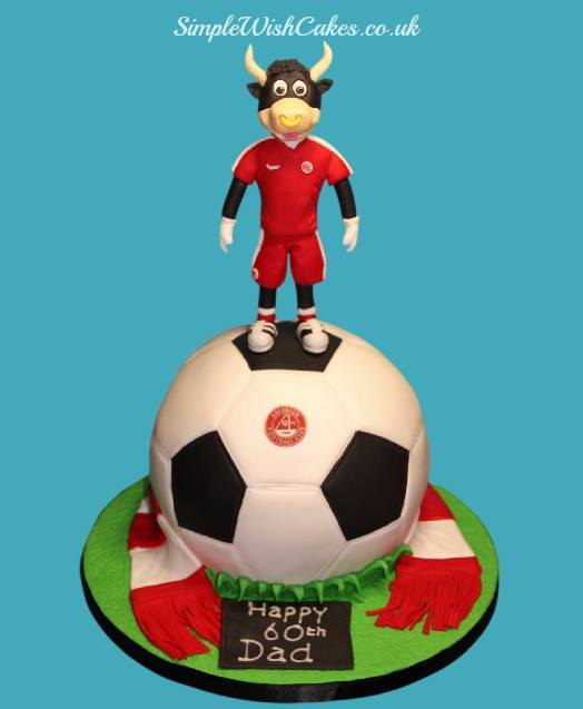Aberdeen Football Cake A Photo On Flickriver
