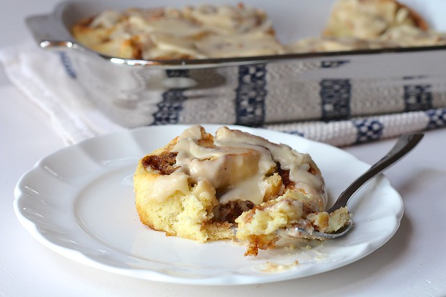 Cookie Dough Stuffed Cinnamon Rolls