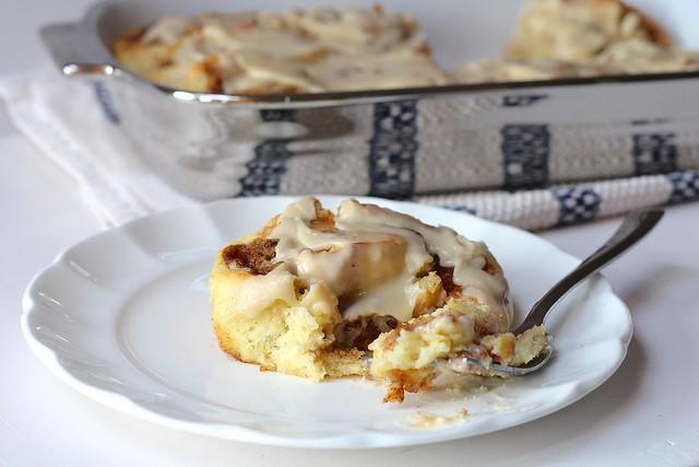 Cookie Dough Stuffed Cinnamon Rolls