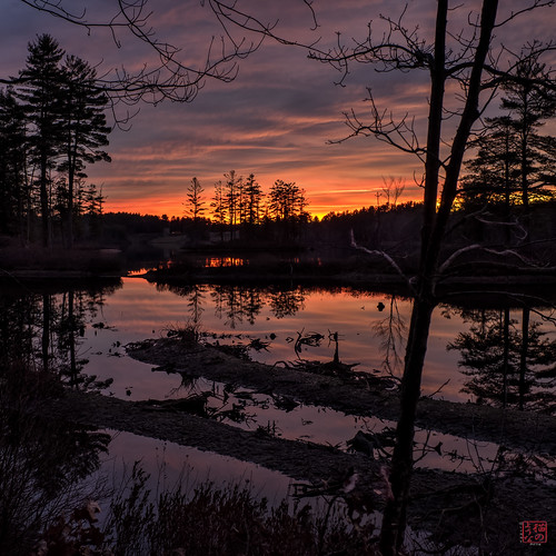 sunset unitedstates walk massachusetts royalston explored tullylake winter2014 voigt35 cal2016