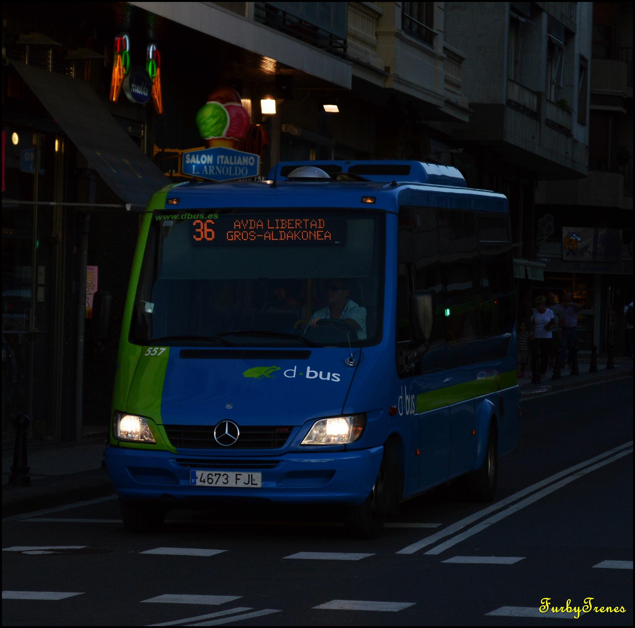 Urbanos de Donostia-San Sebastián (DBUS) 15893025759_82b1b4a615_o