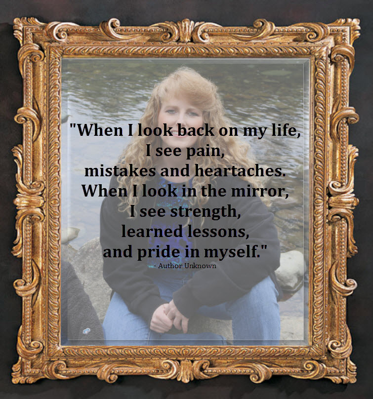 sherry redhead riter framed at the river quote