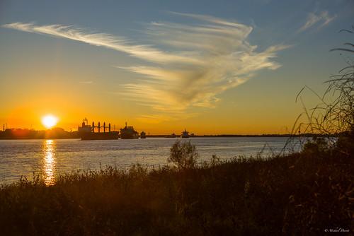 leica sunset louisiana neworleans mississippiriver kenner m240 lr5 50mmsummiluxv2